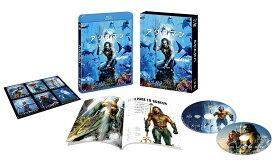アクアマン ブルーレイ&DVDセット(2枚組/ブックレット&キャラクターステッカー付)(初回仕様)【Blu-ray】 [ ジェイソン・モモア ]