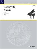 【輸入楽譜】カプースチン, Nikolai: アンダンテ Op.58