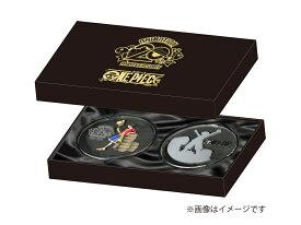 ワンピース アニメ放送20周年記念 ガラスコースター2個セット
