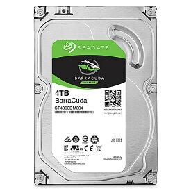 Seagate Gaurdian ST4000DM004 3.5インチ内蔵HDD 4TB SATA 6.0Gb/s 5400rpm 256MB