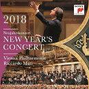 【輸入盤】ニューイヤー・コンサート2018 リッカルド・ムーティ&ウィーン・フィル(2CD)