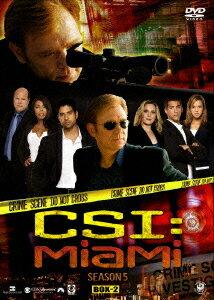 CSI:マイアミ シーズン5 コンプリートDVD BOX-2 [ デヴィッド・カルーソ ]