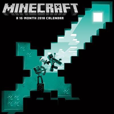 2018 Minecraft Wall Calendar CAL 2018-MINECRAFT WALL [ Trends International ]