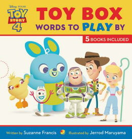 Toy Story 4 Toy Box: Words to Play by TOY STORY 4 TOY BOX WORDS TO P [ Suzanne Francis ]