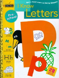 I Know Letters (Preschool) WORKBK-I KNOW LETTERS (PRESCHO (Step Ahead Golden Books Workbook) [ Susan J. Schneck ]