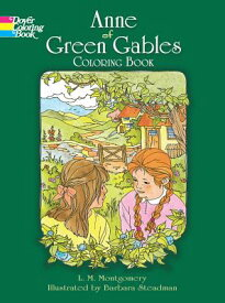 ANNE OF GREEN GABLES COLORING BOOK [ LUCY MAUD MONTGOMERY ]