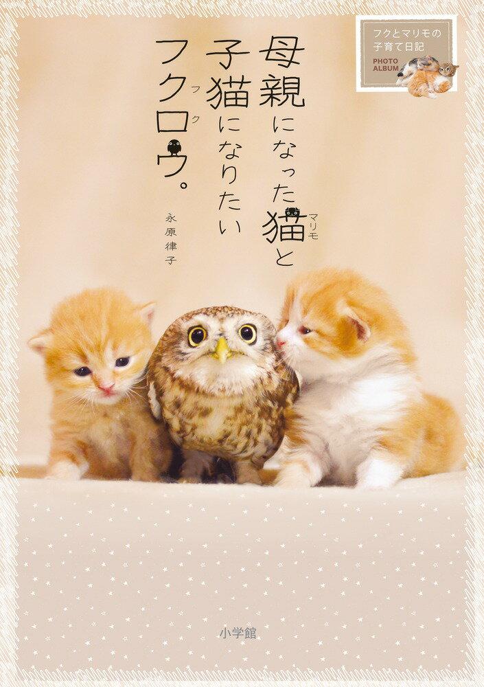 母親になった猫と子猫になりたいフクロウ。 フクとマリモの子育て日記 [ 永原 律子 ]