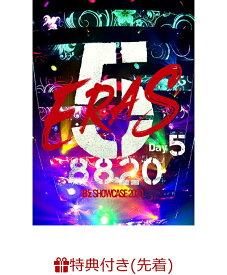 【先着特典】B'z SHOWCASE 2020 -5 ERAS 8820-Day5(B'z SHOWCASE 2020 -5 ERAS 8820- オリジナルクリアファイル(A4 サイズ)) [ B'z ]