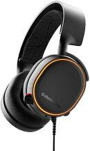ゲーミングヘッドセット SteelSeries Arctis 5 Black