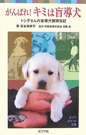 がんばれ!キミは盲導犬 トシ子さんの盲導犬飼育日記 (ポプラポケット文庫) [ 長谷島妙子 ]