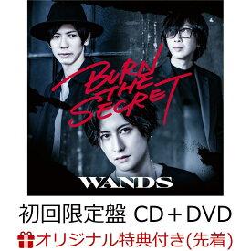 【楽天ブックス限定先着特典】BURN THE SECRET (初回限定盤 CD+DVD)(クリアファイル(A4サイズ)) [ WANDS ]