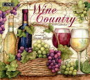 Wine Country 2019 14x12.5 Wall Calendar