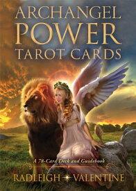 Archangel Power Tarot Cards: A 78-Card Deck and Guidebook ARCHANGEL POWER TAROT CARDS [ Radleigh Valentine ]