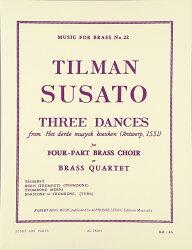 【輸入楽譜】スザート, Tylman: 3つの舞曲