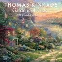 Thomas Kinkade Gardens of Grace with Scripture 2021 Wall Calendar THOMAS KINKADE GARDENS OF GRAC [ Thomas Kink…