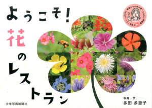 ようこそ! 花のレストラン (植物たちの声を聞く たえこ先生のマルワ!観察記) [ 多田 多恵子 ]