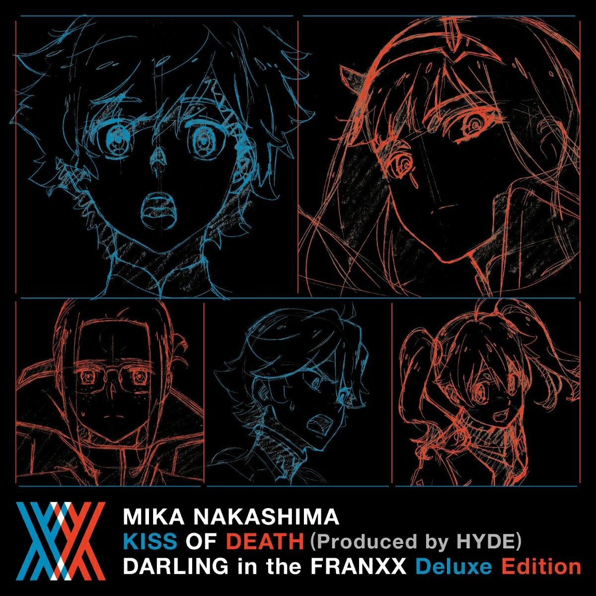 KISS OF DEATH (Produced by HYDE) ダーリン・イン・ザ・フランキス Deluxe Edition (完全生産限定盤) [ 中島美嘉 ]