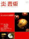 炎芸術(no.130(2017夏)) 見て・買って・作って・陶芸を楽しむ 特集:きらめきの金銀彩