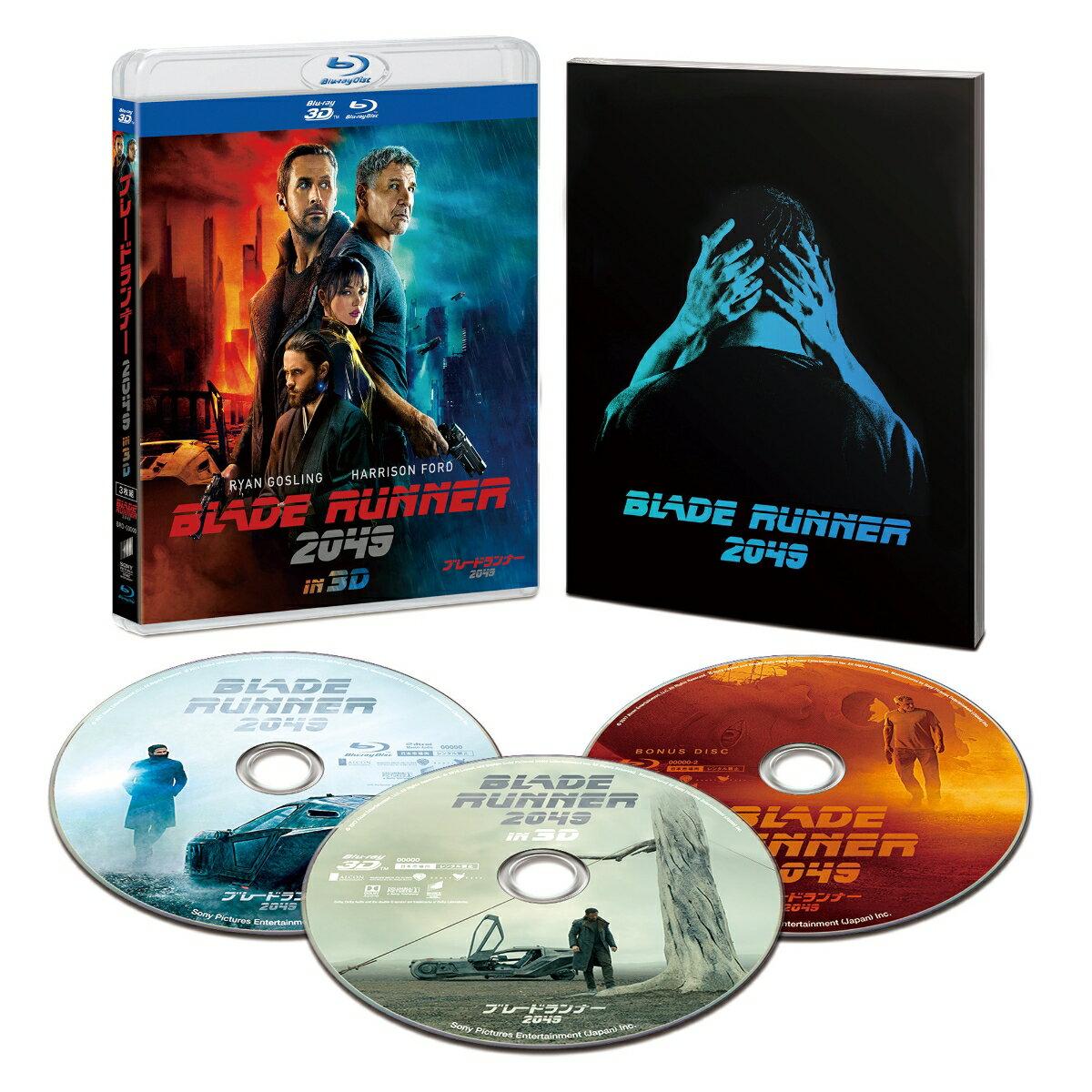 ブレードランナー 2049 IN 3D(初回生産限定)【Blu-ray】 [ ライアン・ゴズリング ]