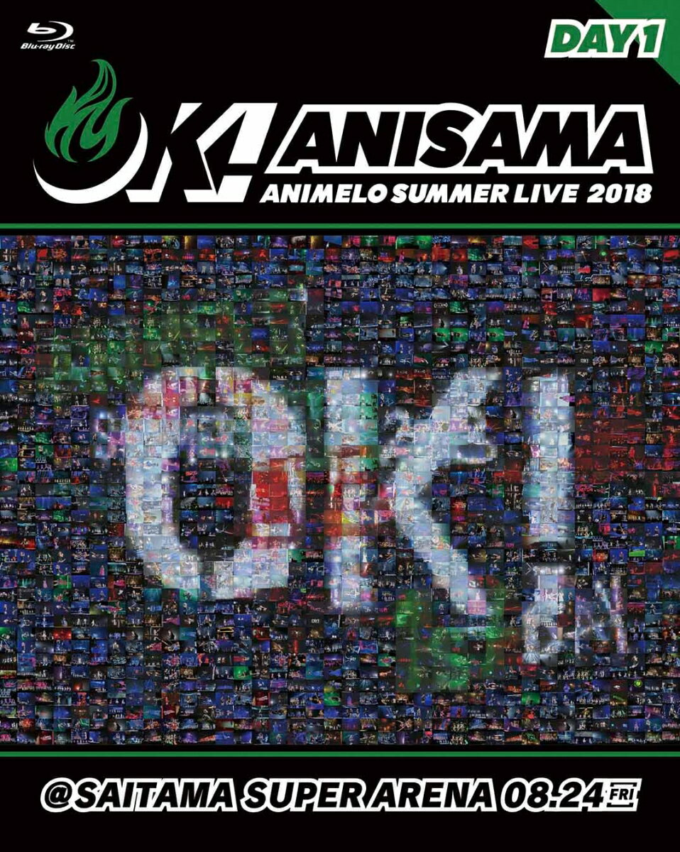 "Animelo Summer Live 2018 ""OK!"" 08.24【Blu-ray】 [ Various Artists ]"