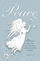 Peace Paper Art Advent Bulletin (Pkg of 50)