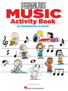 【輸入楽譜】ガラルディ, Vince: ザ・ピーナッツ・ミュージック・アクティビィティ・ブック - An Introduction to Music [ ガラルディ, Vince ]