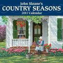 John Sloane's Country Seasons 2017 Mini Wall Calendar