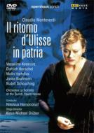 【輸入盤】『ウリッセの帰還』全曲 グルーバー演出、アーノンクール&チューリッヒ歌劇場、カサロヴァ、ヘンシェル…