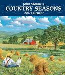 John Sloane's Country Seasons 2017 Monthly/Weekly Planner Calendar