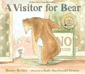 A Visitor for Bear VISITOR FOR BEAR (Bear and Mouse) [ Bonny Becker ]