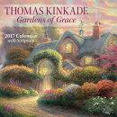 Thomas Kinkade Gardens of Grace 2017 Wall Calendar