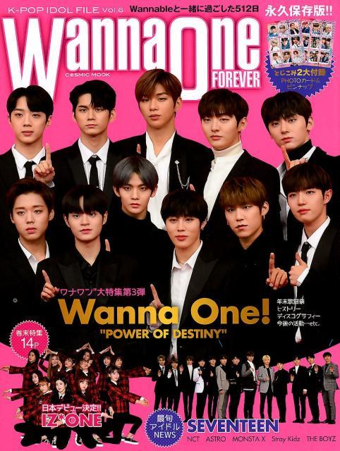 K-POP IDOL FILE(Vol.6) Wanna One FOREVER (COSMIC MOOK)