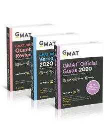 GMAT Official Guide 2020 Bundle: 3 Books + Online Question Bank GMAT OFF GD 2020 BUNDLE [ Gmac (Graduate Management Admission Coun ]