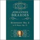 【輸入楽譜】ブラームス, Johannes: 交響曲 第2番 ニ長調 Op.73: 小型スコア