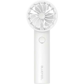 BLUEFEEL PRO+ 超小型ヘッド ポータブル扇風機 スノーホワイト