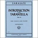 【輸入楽譜】サラサーテ, Pablo de: 序奏とタランテラ Op.43/フランチェスカッティ編
