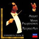 モーツァルト:交響曲第39番・第25番