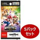 『マリオスポーツ スーパースターズ』amiiboカード 5パックセット