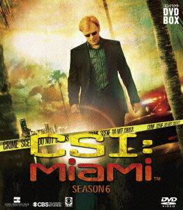 CSI:マイアミ コンパクト DVD-BOX シーズン6 [ デヴィッド・カルーソ ]