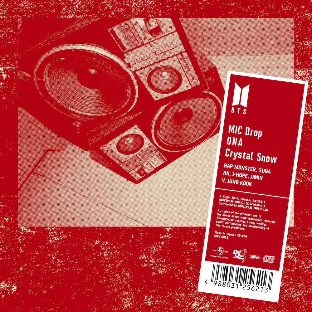 MIC Drop/DNA/Crystal Snow (通常盤) [ BTS (防弾少年団) ]