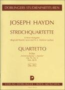 【輸入楽譜】ハイドン, Franz Joseph: 弦楽四重奏曲 変ロ長調 Op.76/4