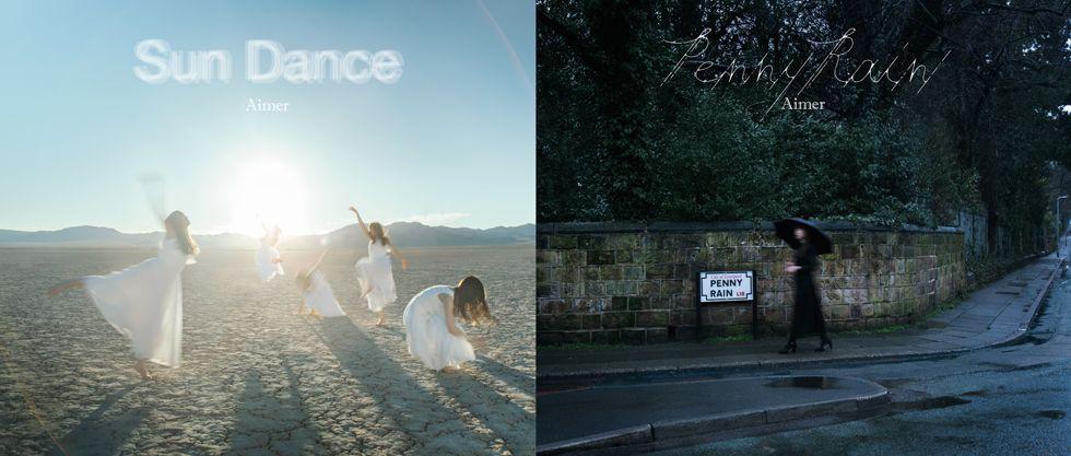 Sun Dance & Penny Rain (初回限定盤A 2CD+Blu-ray) [ Aimer ]