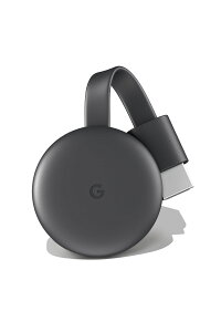 GoogleChromecastチャコール