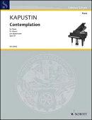【輸入楽譜】カプースチン, Nikolai: 瞑想曲 Op.47