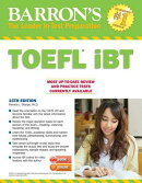 Barron's TOEFL Ibt with MP3 Audio CDs [With 2 MP3 CDs]