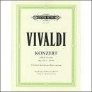 【輸入楽譜】ヴィヴァルディ, Antonio: 合奏協奏曲集「調和の霊感」より 2台のバイオリンとチェロのための協奏曲 ニ…