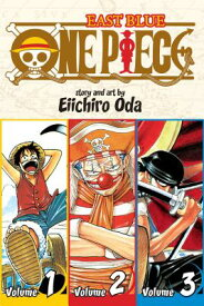 One Piece: East Blue 1-2-3, Vol. 1 (Omnibus Edition) 1 PIECE EAST BLUE 1-2-3 VOL 1 (One Piece 3 in 1) [ Eiichiro Oda ]