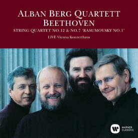 ベートーヴェン:弦楽四重奏曲 第12番&第7番「ラズモフスキー第1番」(1989年ライヴ) [ アルバン・ベルク四重奏団 ]