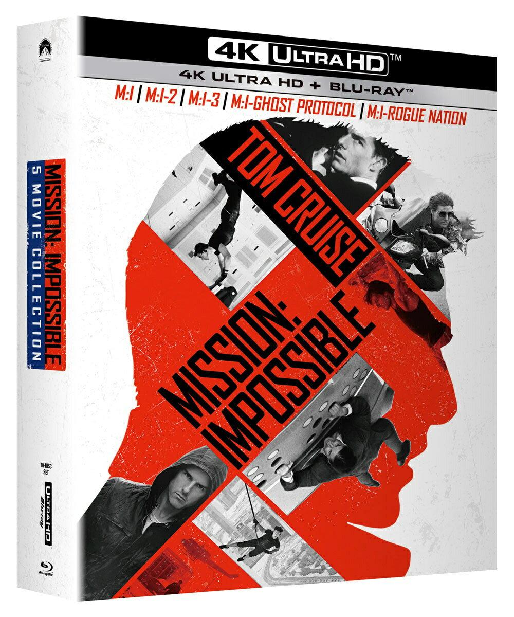 ミッション:インポッシブル 5 ムービー・コレクション(4K ULTRA HD+ブルーレイ)【4K ULTRA HD】 [ トム・クルーズ ]