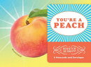 You're a Peach: 8 Scratch and Sniff Notecards